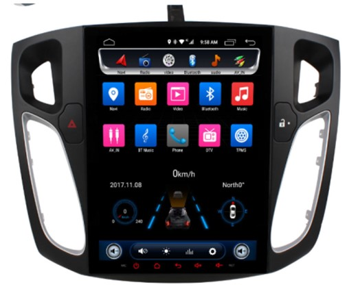 Đầu Ownice android C600 cho xe Ford FOCUS 2012 2013 2014 2015