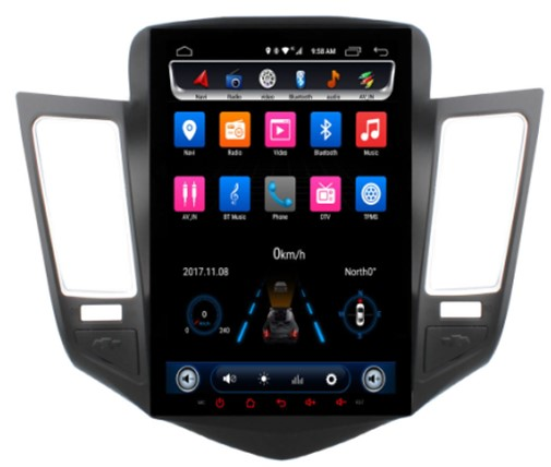 Đầu Ownice android C600 cho xe Chevrolet Cruze 2009 2010 2011 2012 2013 2014 2015