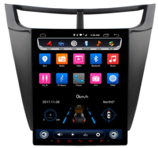 Đầu Ownice android C600 cho xe Chevrolet Sail 3 2015 2016
