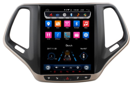 Đầu Ownice android C600 cho xe Jeep Cherokee 2014 2015 2016 2017