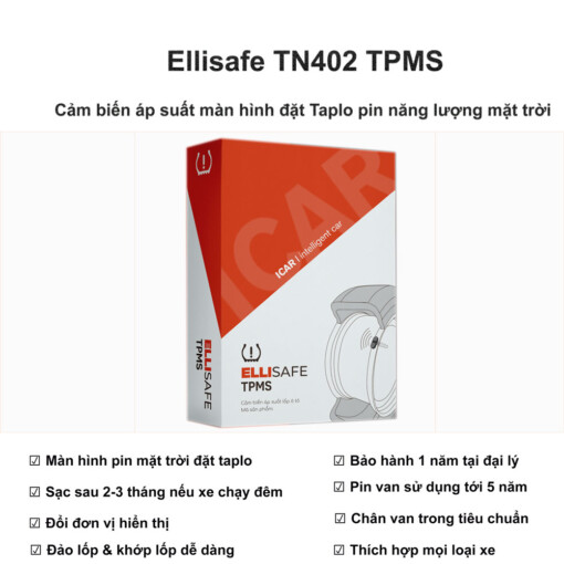 Cảm biến áp suất lốp TN402