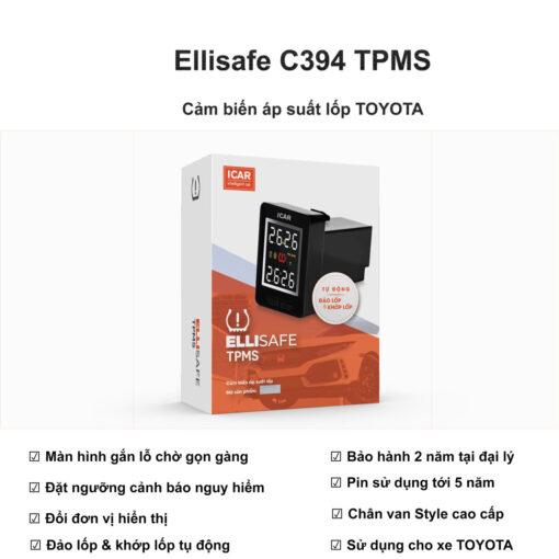 Cảm biến áp suất lốp cho xe Toyota C394
