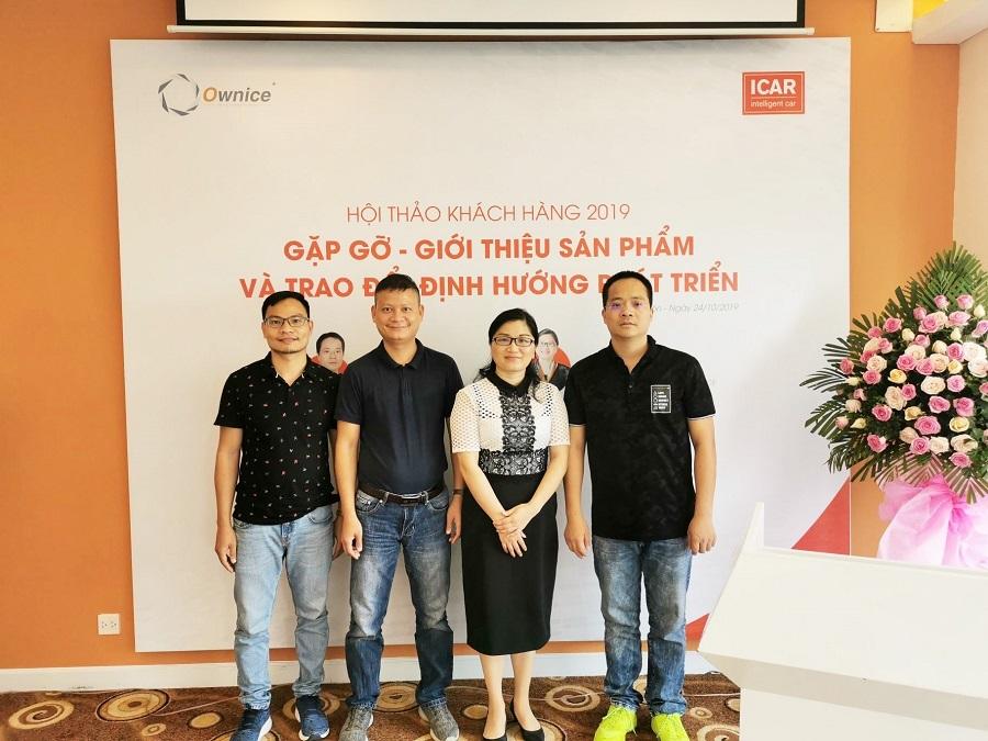 CEO và COO của Ownice cũng có mặt và tham dự hội thảo