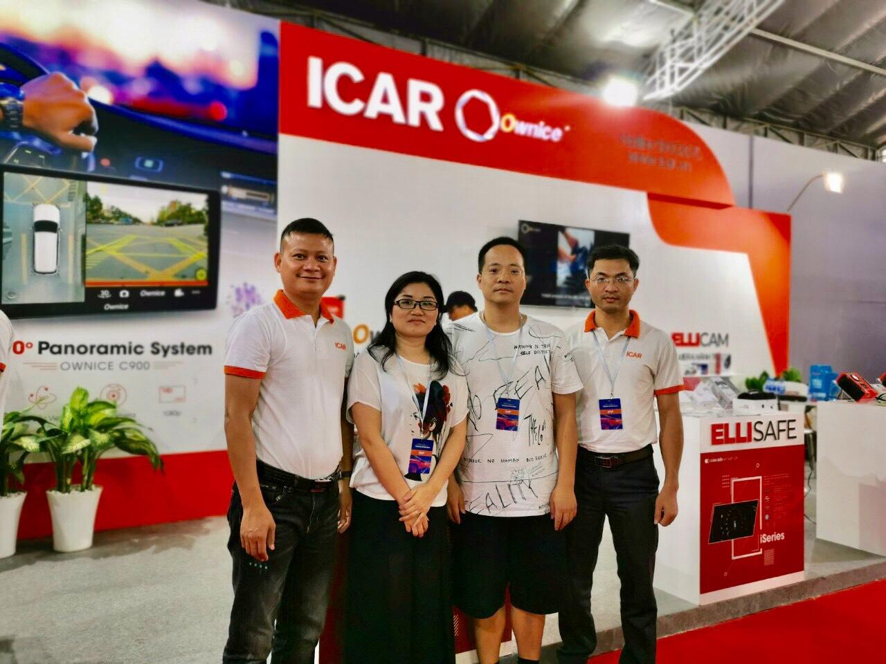 Đại diện thương hiệu Ownice (CEO-Mr.Scott Hu và COO-Mrs. Elaine Tang) cũng tham dự tại sự kiện