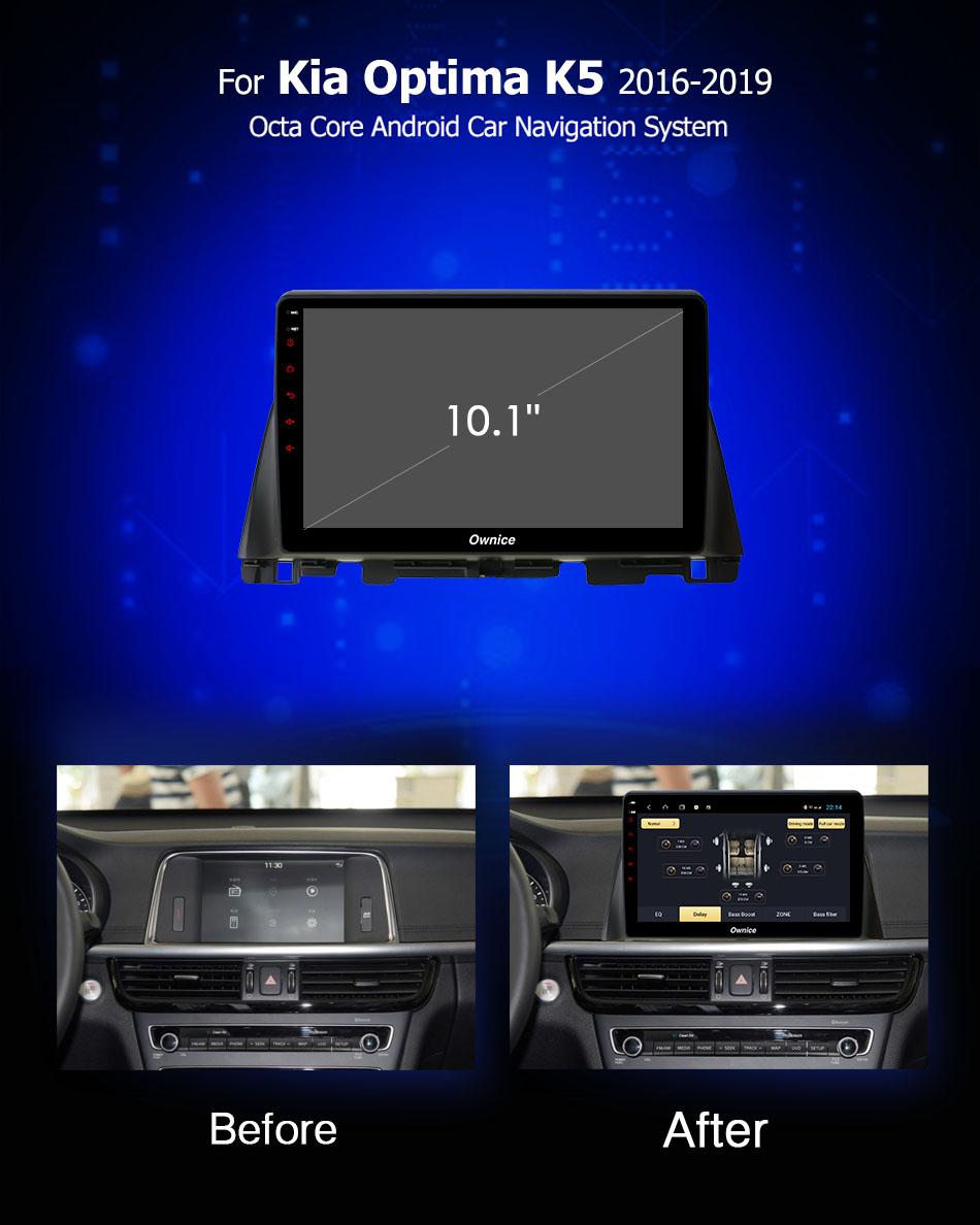 Đầu DVD android Ownice C960 cho xe ô tô Kia K5 2016-2019