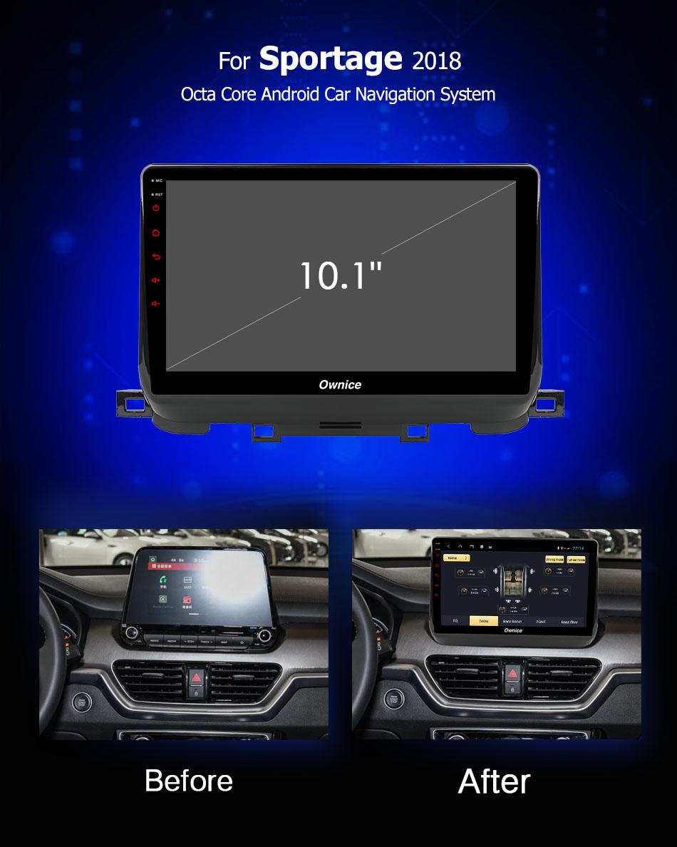 Đầu DVD android Ownice C960 cho xe ô tô Kia Sportage 2018