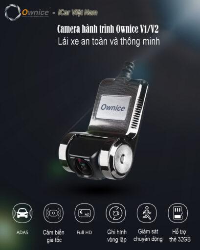 Camera hành trình ELLICAM V2 cảnh báo va chạm
