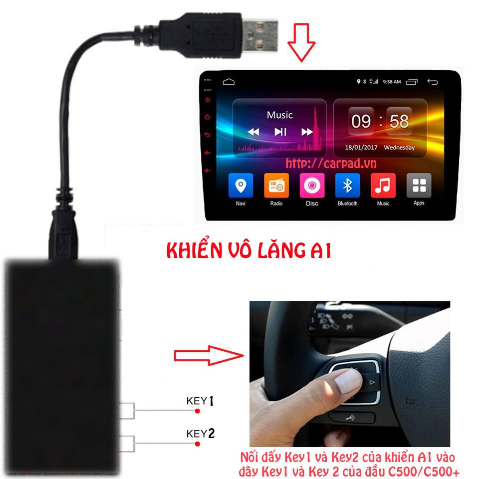 Khiển vô lăng USB A1