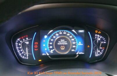 Máy kích hoạt cảm biến áp suất lốp iCar X1 cho xe Hyundai và KIA