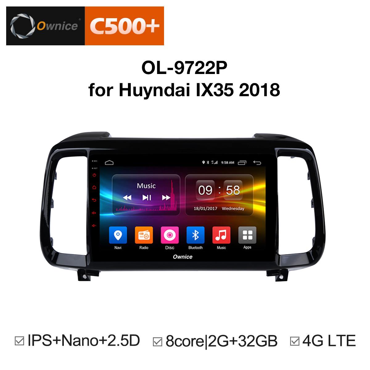 Đầu android C500+ theo xe Hyundai IX35 2018 :: OL-9722P