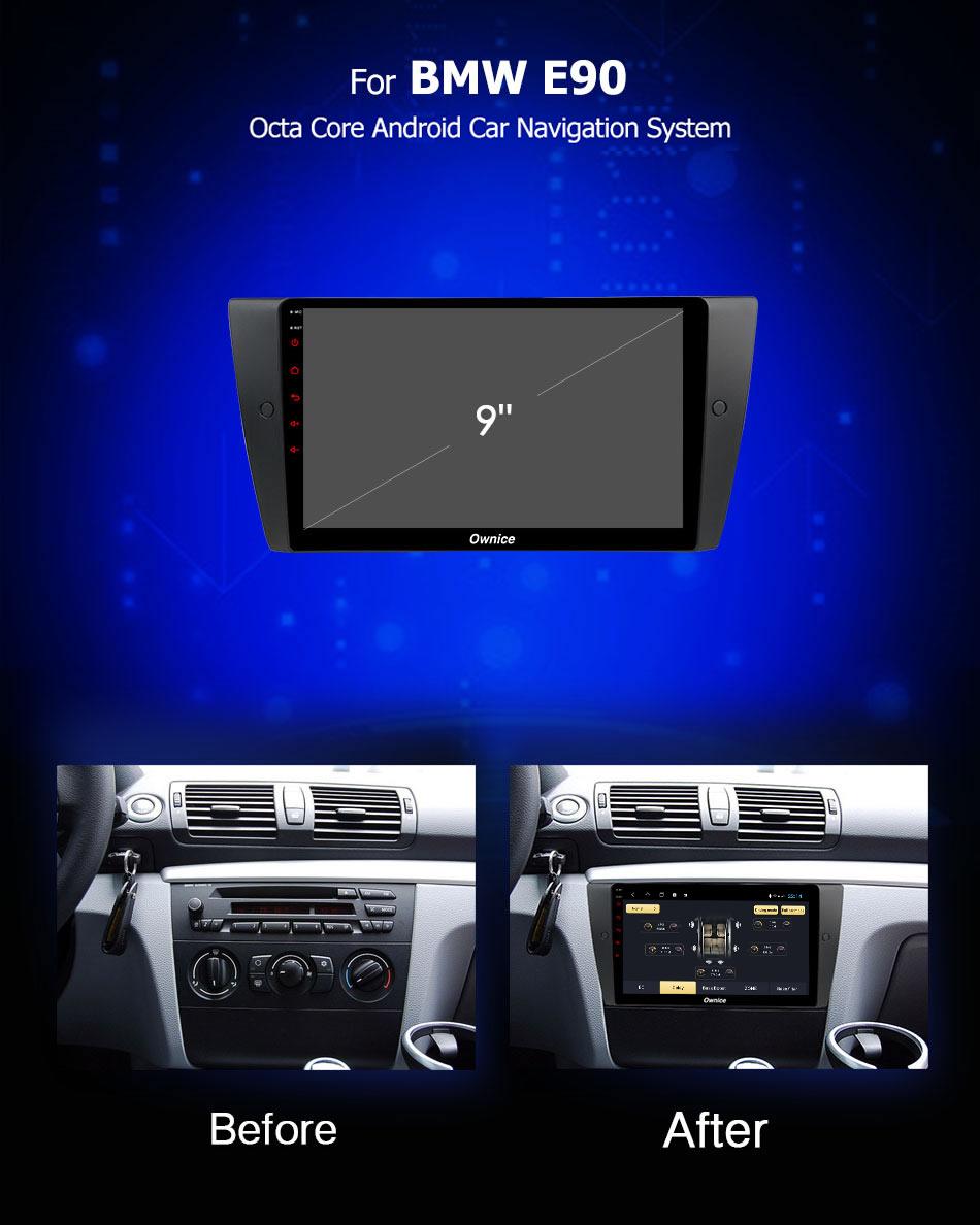 Đầu DVD android Ownice C960 cho xe ô tô BMW E90