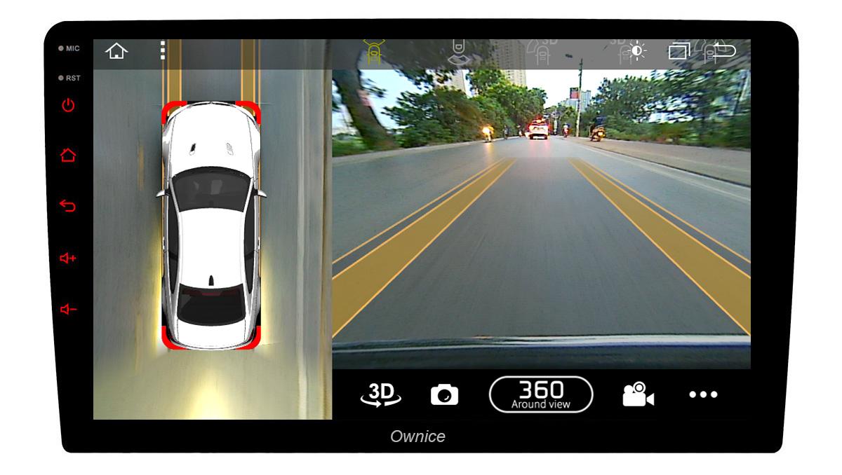 Đầu DVD android Ownice C900 kiêm Camera 360