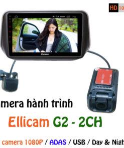 Camera hành trình 2 kênh G2 2CH Ellicam