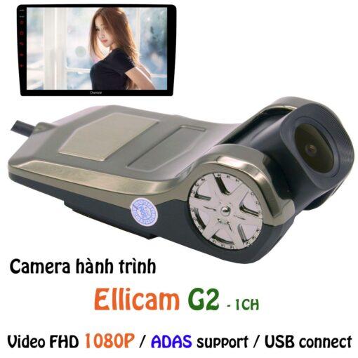 Camera hành trình ô tô Ellicam G2 1 kênh