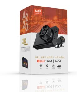 Camera hành trình ô tô Ellicam A220 chất lượng hình ảnh 2k