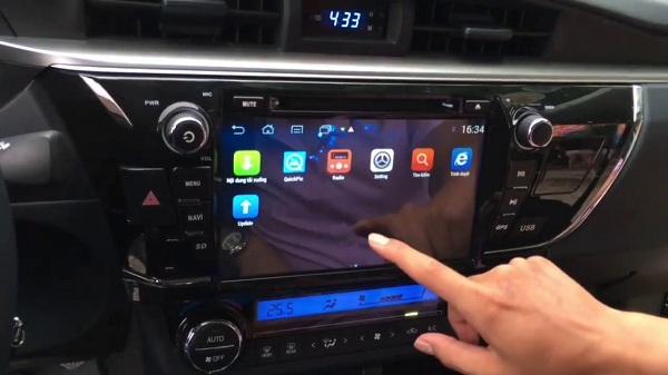 Đầu DVD Android là thiết bị giải trí tuyệt vời trên ô tô