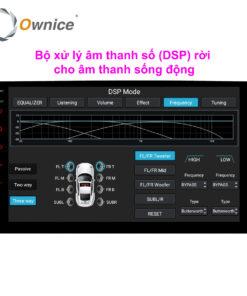 DVD android C800 có DSP 8 kênh âm thanh chất lượng cao