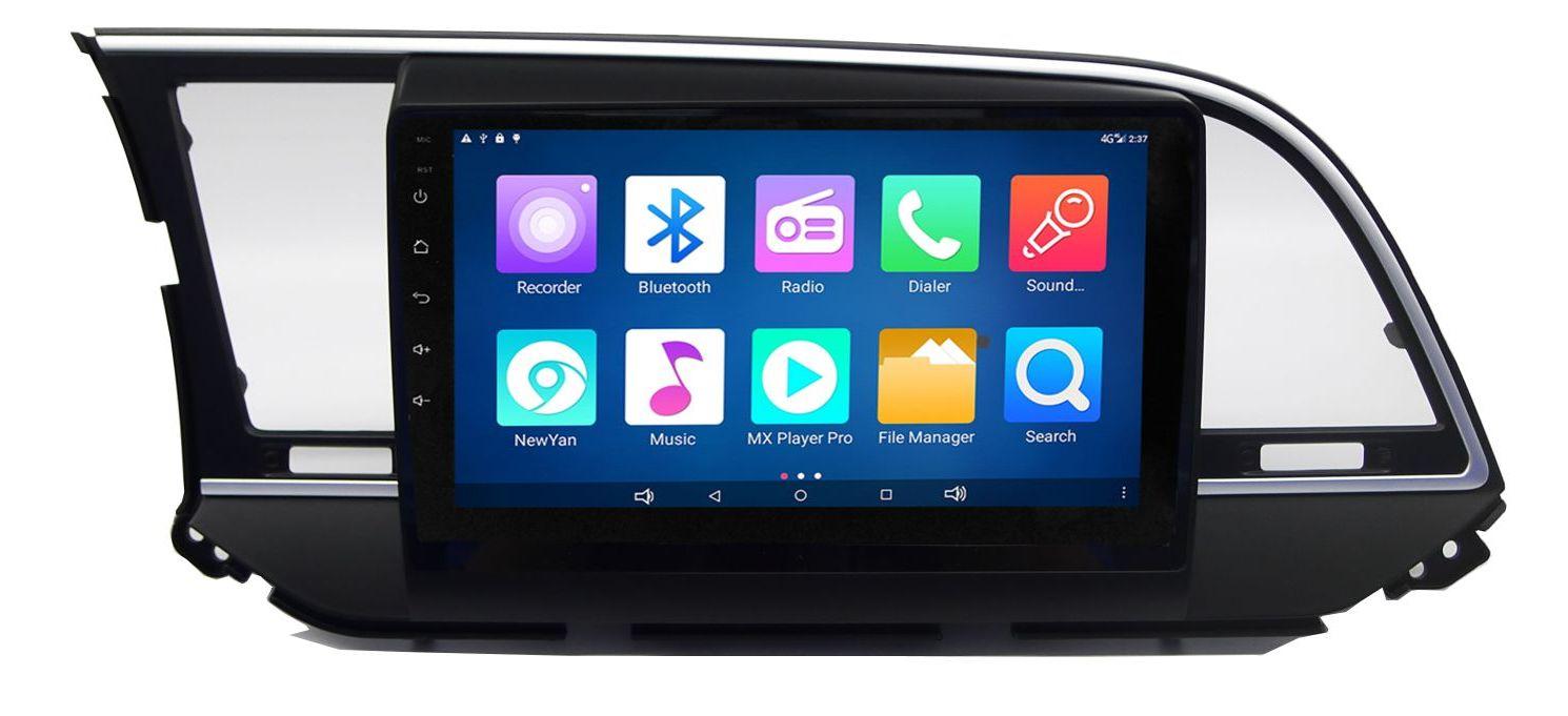 "Hyundai Elantra 2011-2016 :: Màn 9inch"" :: Carpad 4 :: Android 5.0.1 :: NM9016"