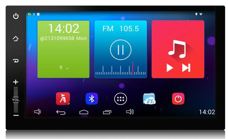 "Toyota COROLLA EX :: Màn 9inch"" :: Carpad 4 :: Android 5.0.1 :: NM9050"