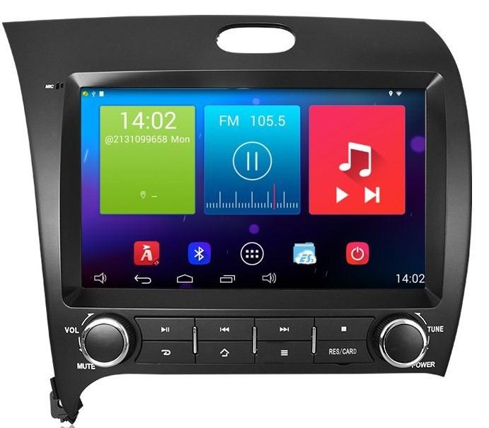 Đầu Android Carpad III mã hiệu cho xe KIA K3 với vẻ ngoài chau chuốt, màn hình sắc nét
