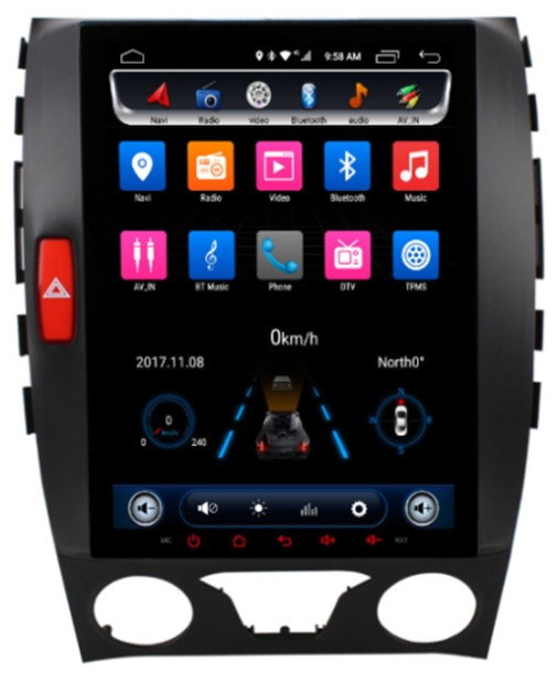 Đầu Ownice android C600 cho xe Ford Edge 2015 2016 2017