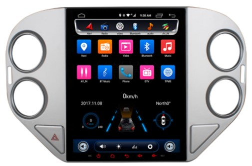 Đầu Ownice android C600 cho xe Volkswagen Tiguan 2010 2011 2012 2013 2014 2015 2016