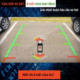Cảm biến hỗ trợ đỗ xe ô tô 8 mắt iCAR Parking S81