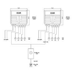Sơ đồ cấu tạo bộ cảm biến hỗ trợ đỗ xe S81 iCar