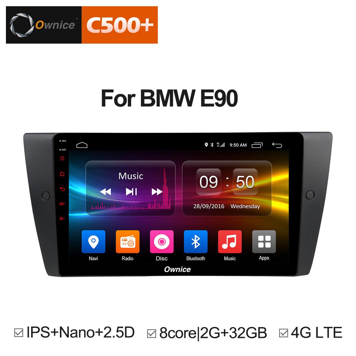 """BMW E90 :: Đầu android C500+ màn 9"""" :: OL-9958P"""
