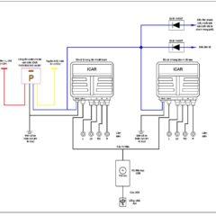 Sơ đồ đấu nối dây nguồn cảm biến tiến lùi S81