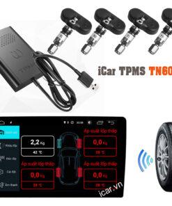 Cảm biến biến áp suất lốp kết nối USB iCar TN602