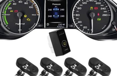 Cảm biến áp suất lốp theo xe Tucson - iCar i12