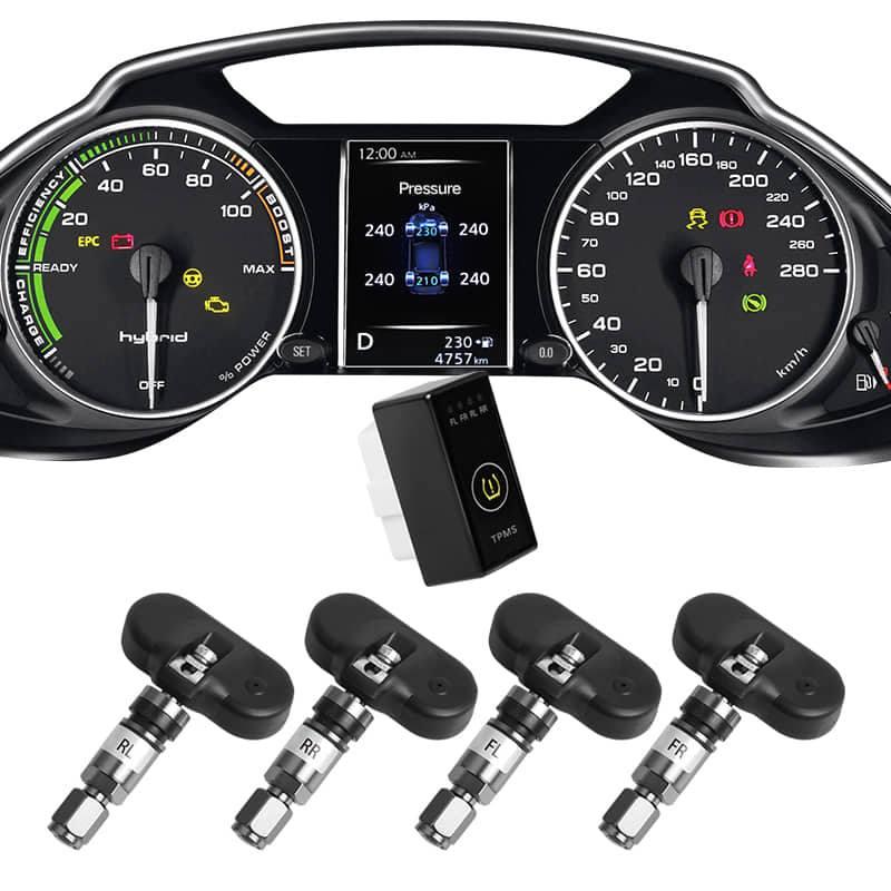 Hệ thống cảnh báo áp suất lốp i Serials theo xe