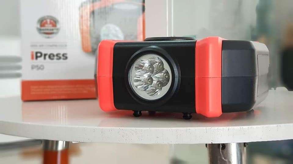 Bơm điện ô tô mini iPress P50