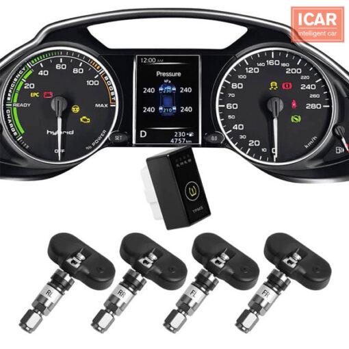 Giới thiệu cảm biến áp suất lốp theo xe Tucson và Accent