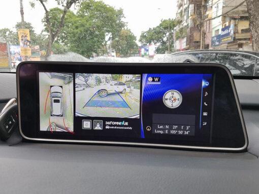 Camera 360 độ cho xe lexus Rx350 F sport :: CAM360-13