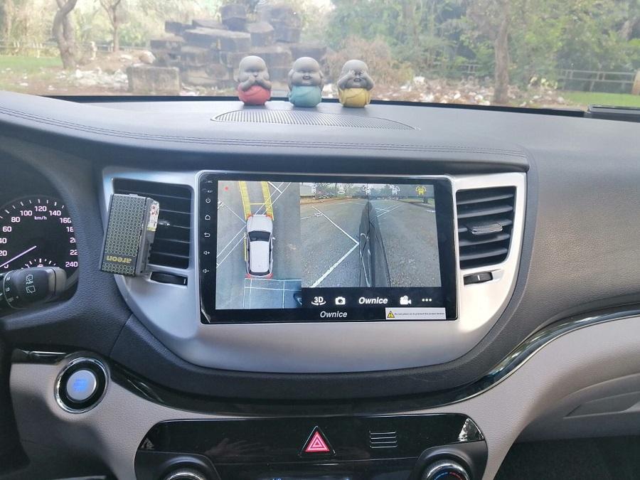 Căn chỉnh đậu xe từ camera 360