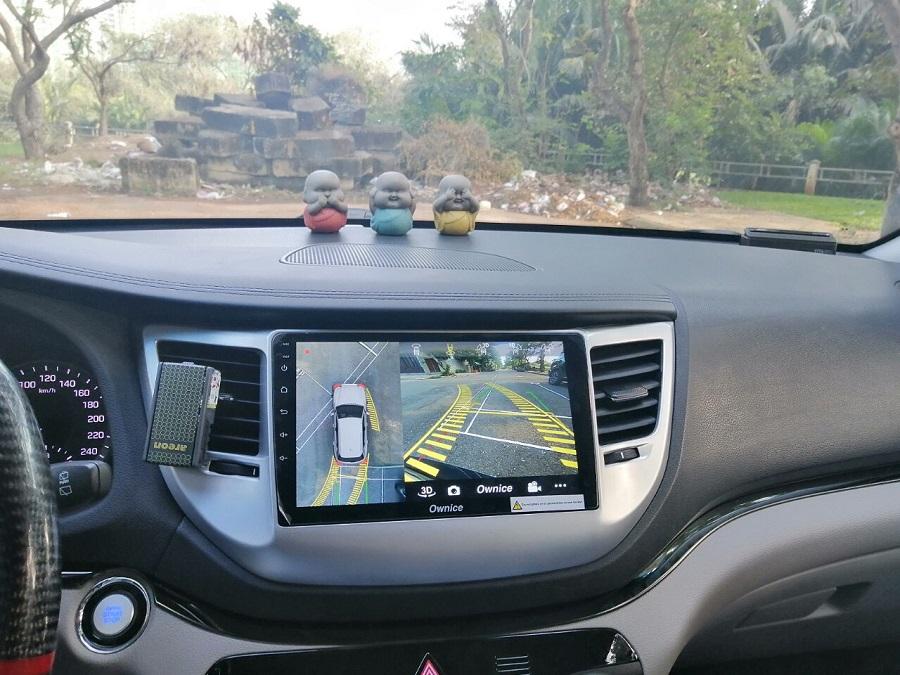 Camera 360 đã được iCar Việt Nam lắp trên xe Tucson 2018