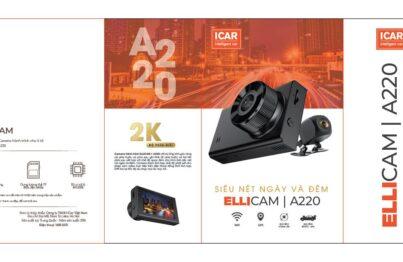 Nhận diện bao bì sản phẩm Camera hành trình ô tô Ellicam A220