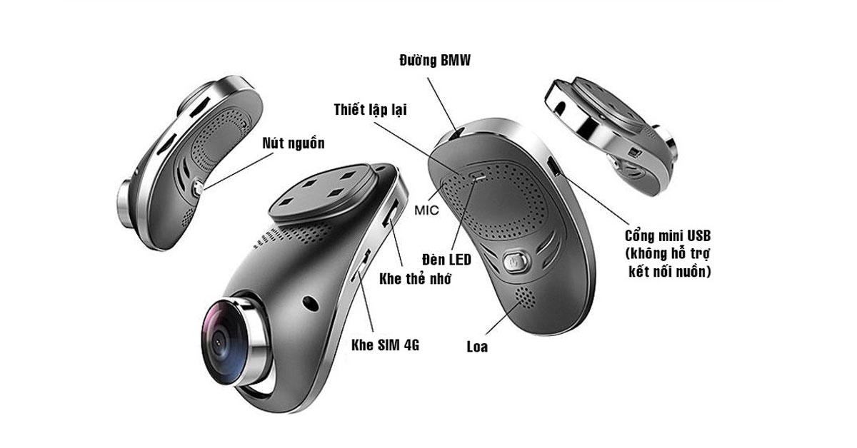 Camera hành trình chất lượng cao ElliCam A100