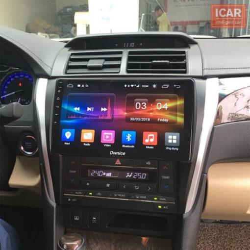 Đầu DVD Android cho xe ô tô Camry chính hãng