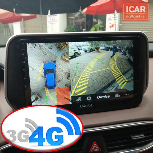 Sử dụng USB 3G 4G trên đầu DVD android ô tô để kết nối internet