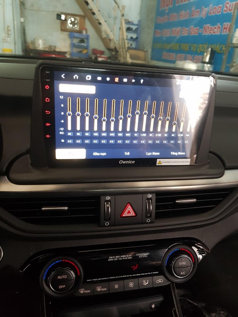 Đầu DVD Android Ownice C960 cho xe Kia Carato 2019 có bộ nhớ RAm 4GB, roM 32gb, DSP 6 kênh