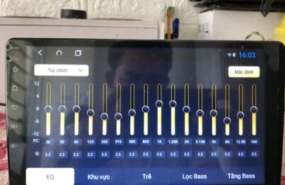 Hướng dẫn sử dụng các bộ xử lý âm thanh kỹ thuật số (DSP) cho đầu Android ô tô