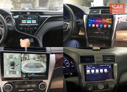 Những điều cần biết khi chọn màn hình DVD Android cho xe ô tô Camry