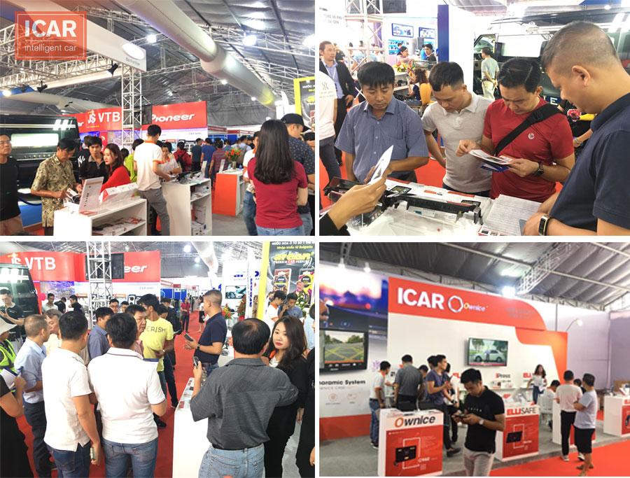 Rất nhiều khách hàng đã ghé thăm gian hàng của ICAR Việt Nam tại Triển lãm Viet Nam Motow Show 2019