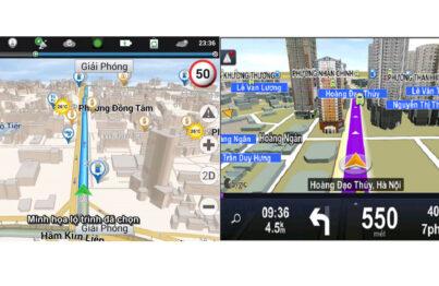 Hướng dẫn cài đặt các phần mềm phù hợp với màn hình dẫn đường ô tô