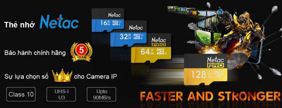 Thẻ nhớ Netac dung lượng cao SDHC Class10 32GB