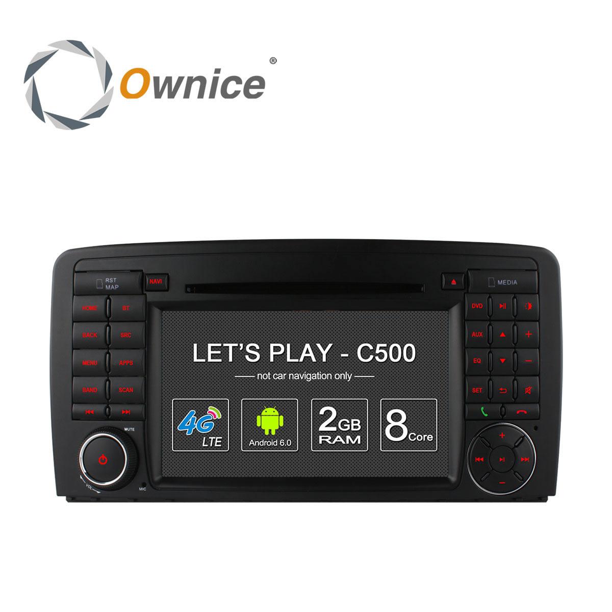 """Mercedes Benz R W251(R280, R300, R320, R350, R500) từ 2006 :: Màn 7"""" :: Ownice C500 :: 32GB :: OL-7951G"""