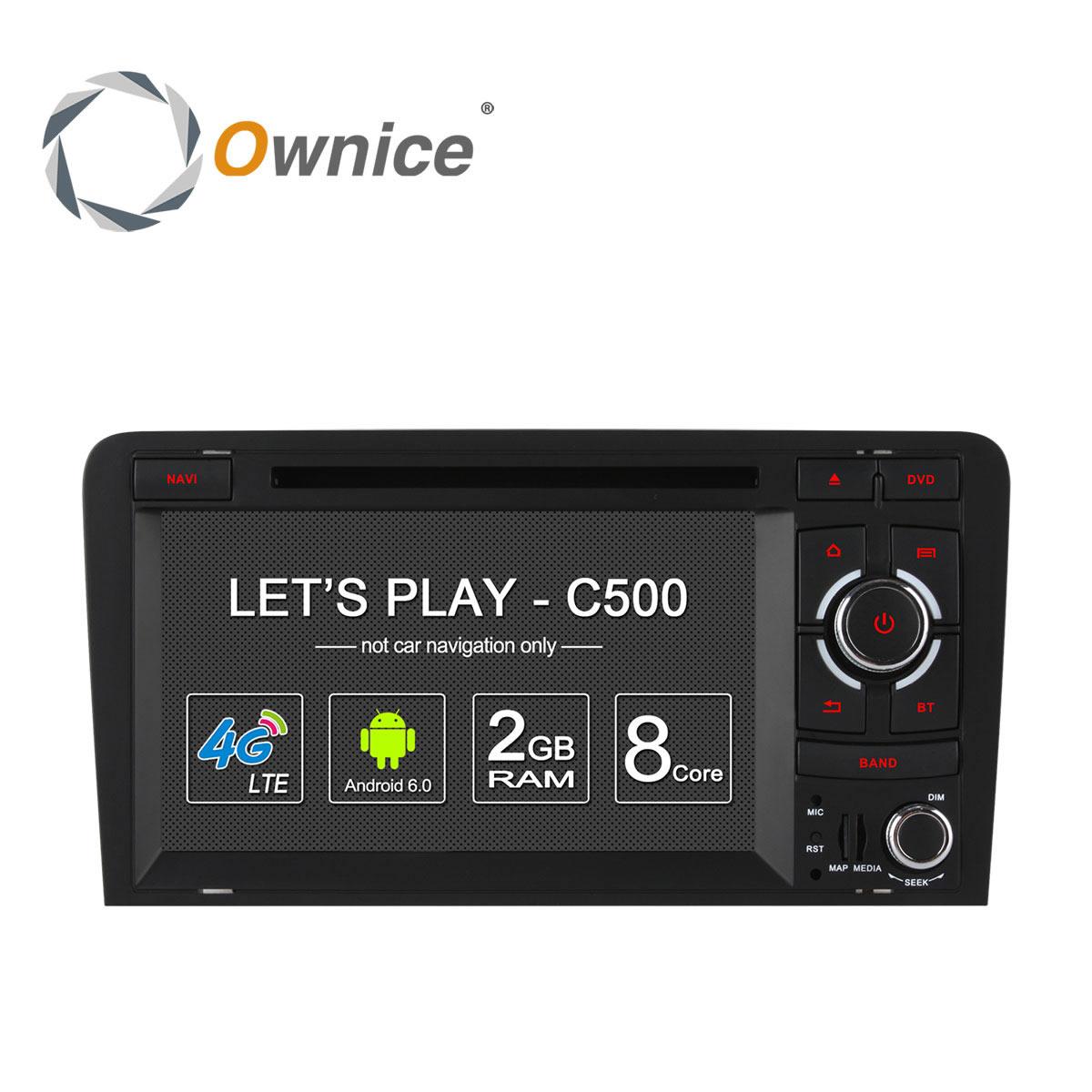 "Audi A3, S3 2003-2011 :: Màn 7"" :: Ownice C500 :: 32GB :: OL-7966G"